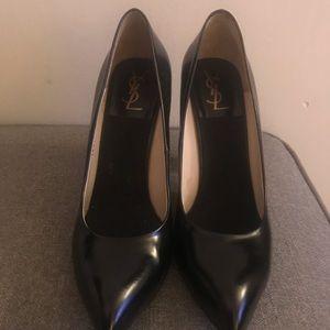 YSL Yves Saint Laurent black heels size 41.5